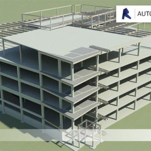 Revit Structure pour la construction d'un bâtiment