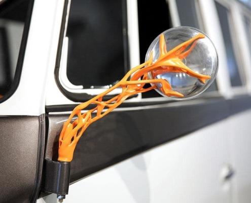 Utilisation du Design Génératif dans l'impression 3D de pièces sur un véhicule Volkswagen