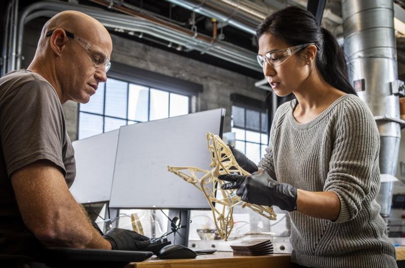 Collaboration au processus de conception 3D au sein d'une équipe grâce aux logiciels autodesk