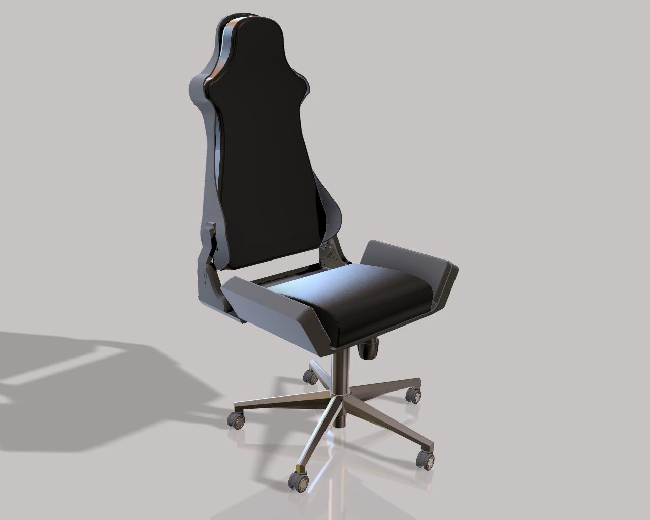 Objectifs de la formation Autodesk Fusion 360 comprenant la modélisation 3D d'un fauteuil de gamer