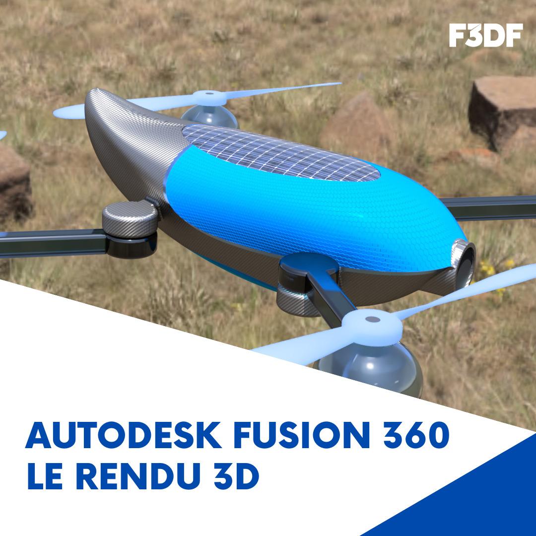 Se former au rendu 3D avec Autodesk Fusion 360