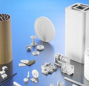 Pièces imprimées en 3D avec de la céramique