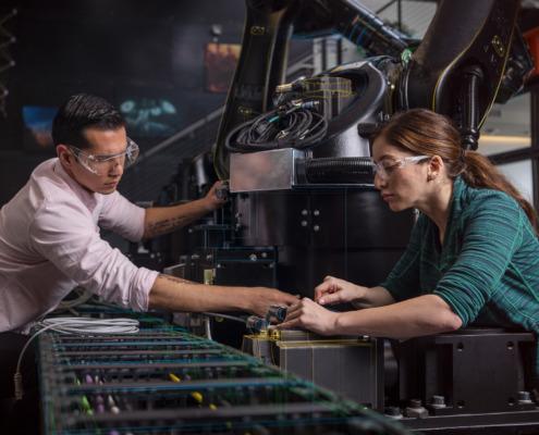 Applications de la 3D dans les secteurs industriels